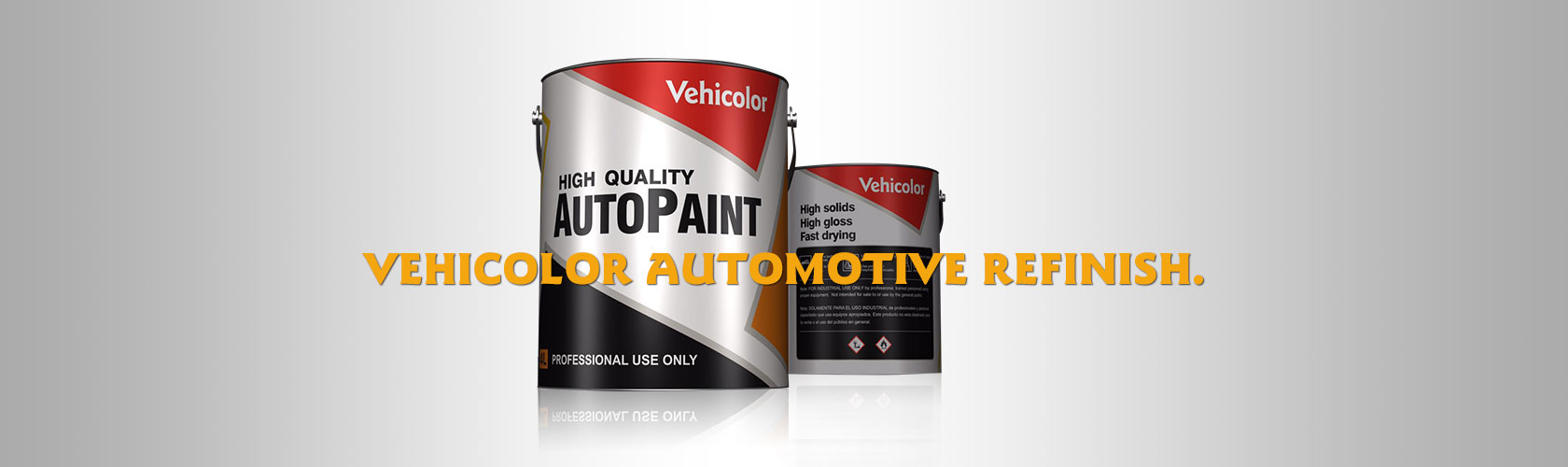 Vehicolor auto refinish